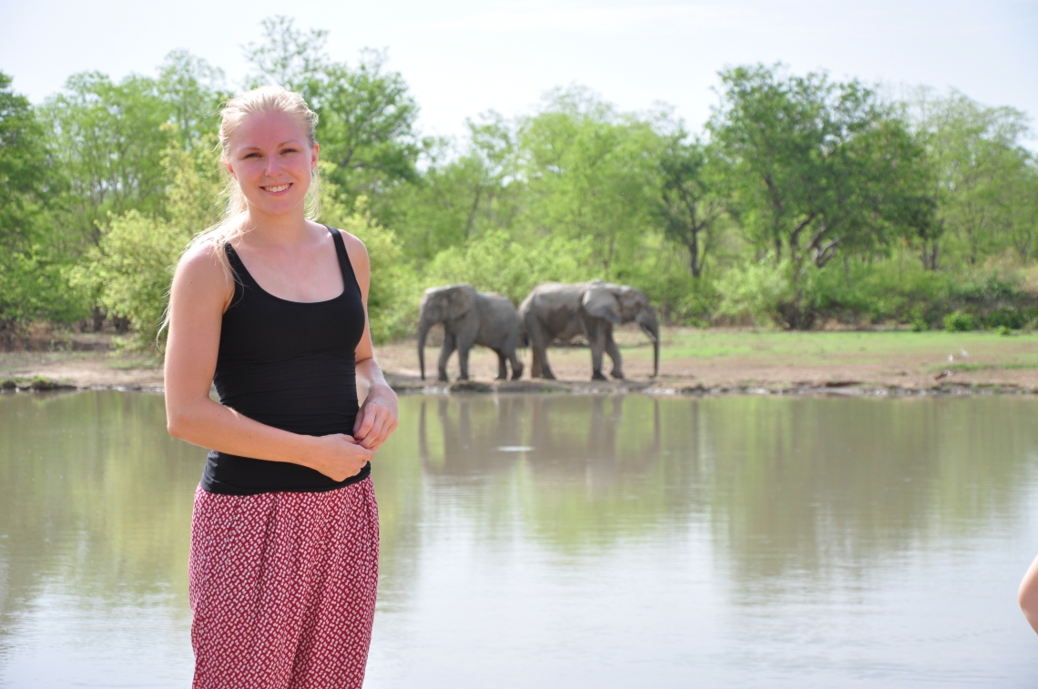 Mig og elefanter